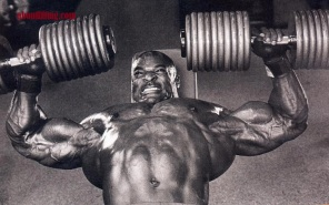Ronnie-coleman-Chest-dumbell-press-